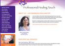 Professional Healing Touch Website
