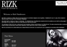 Rizk Hairdressers Website